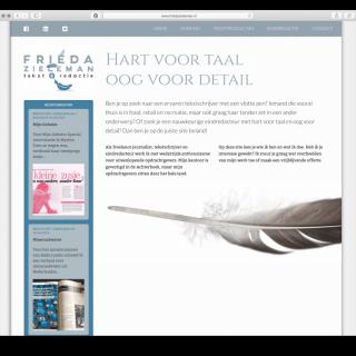 Frieda Zieleman Tekst & Redactie website 1