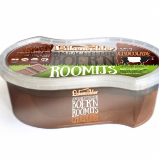 Lakenvelder Ambachtelijk Boer'n Roomijs Chocolade