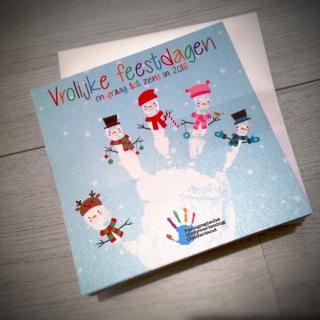 Pedagogische Hulpverlening Gelderland kerstkaart