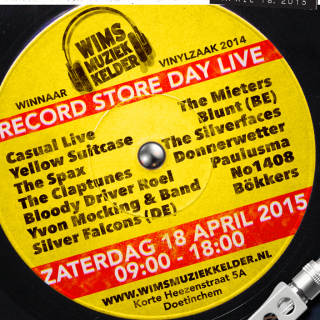 Wim's Muziek Kelder - Record Store Day live 2015