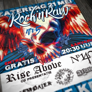 rock'n'raw poster close-up